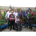 ​Stroke garden blooms thanks to Dobbies donation