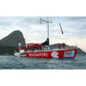 Keppel-sponsored Singapore yacht secures podium win in leg to Brazil in Clipper 11-12 Round the World Yacht Race