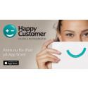 HappyCustomer - Kundundersökning finns för iPad på App Store och antalet nedladdningar av den prisvärda appen ökar