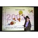 Hans Rosling föredrar i Uppsala Universitets aula!