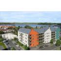 Första spadtag 40 nya lägenheter centrala Gnesta
