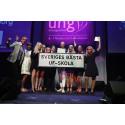 Årets UF-skola 2018: Thoren Business School i Helsingborg är landets bästa skola för unga företagare