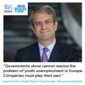 Nestlé lanserer initiativ mot ungdomsledighet i Europa