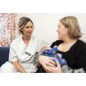 Ammande kvinnor får stöd vid ny amningsmottagning vid USÖ