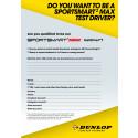 Vill du bli vår Dunlop Sportsmart2 MAX testdriver?