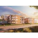 HSB byggstartar 35 lägenheter i brf Solgläntan i Södra Haga Sundsvall