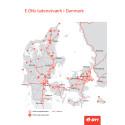 E.ONs hurtiglader-netværk i Danmark
