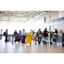 Allt fler reser från Malmö Airport