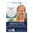 Promas föreläser på Personal & Chefsmässan feb-2017