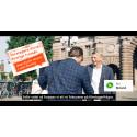 Gerillakampanj taggar upp företagsfrågorna