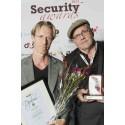 Författare fick säkerhetspris