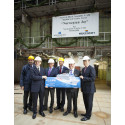Norwegian Joy's keel laying ceremony held at Meyer Werft in Germany