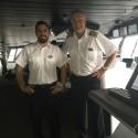 Isak från Uddevalla jobbar på världens största kryssningsfartyg
