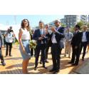 HKH Kronprins Frederik åpner Danmarks paviljong i Rio
