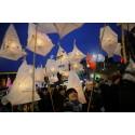 Ljusmanifestationen River of Light i Göteborg för fjärde året