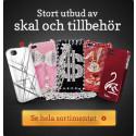 Nymobil satsar på att erbjuda Sveriges största utbud av skal till alla typer av smartphones