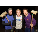 BT's Solihull workers - and running enthusiasts - make it a clean sweep with Jonnie Peacock