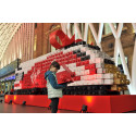 Virgin trains made from 2,000 presents given away to Christmas travellers