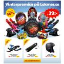 Vinterpremiär på Lekmer.se / Kampanj på mössor, vantar, halsdukar / Mer barnskor - fler adventskalendrar!