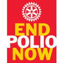 "Direktsändning ""End polio now: Make History Today"""
