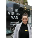 Eye test reminder to spot glaucoma as the Vision Van visits Birmingham