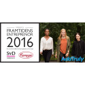 AddTruly nominerad till Framtidens Entreprenör 2016