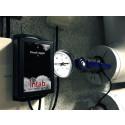 Batteridriven temperaturlogger för avläsning via webben