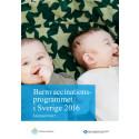 Barnvaccinationsprogrammet, årsrapport 2016