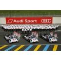 Audi mit verbrauchsgüstigstem Antrieb in Le Mans