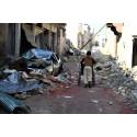 Sex kronor till Syrien på sexårsdagen