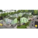 Gavlegårdarna bygger  117 lägenheter på Sörby Backe