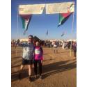 Riksdagsledamöter springer maratonlopp för Västsahara