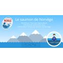 Pour répondre à toutes les questions que se posent les consommateurs sur l'aquaculture, le Centre des Produits de la Mer de Norvège publie une infographie interactive