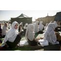 Ny rapport läggs fram i Bryssel:   Afghanska skolbarn betalar ett högt pris - utbildningsframsteg i farozonen