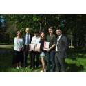 Årets Komatsu Forest-stipendiater på Dragonskolan