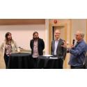 Högskolan firade 100-åringen Trollhättan med seminarium om stadens framtid