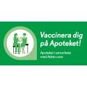 Nu kan du vaccinera dig på Apoteket