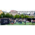 """Utställning kubprojektet """"Varje människa kan göra skillnad"""" i Kungsträdgården"""