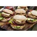 Gårdsmärkta hamburgare - en sommarnyhet från Hälsingestintan