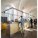 Mediahus i K-märkta lokaler på Skeppsbron - ritat av pS arkitektur