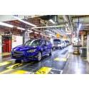 Ensimmäinen uuden perusrakenteen Subaru Impreza valmistui Amerikassa