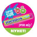 Sommarens suraste rulle är här! Låt oss presentera Mentos sourfruits strawberry & apple