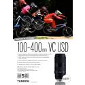 Tamron 100-400mm f/5-6.3 Di VC USD Datablad