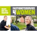 Nytt initiativ ökar antalet kvinnliga fastighetsskötare