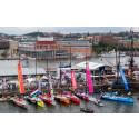 Pressinbjudan: Volvo Ocean Race intar Frihamnspiren i Göteborg
