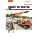Broschyr_Delvator Hitachi_ZX210LC-6 telescopic arm 21 meter