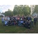 Glada vinnare i klass 6 på Glandshammars skola i Örebro kommun.