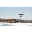 Filmning med quadrocopter