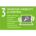 Maintaining visibility and control