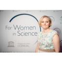 For Women in Science -apuraha myönnetty geenitutkija Henna Tyynismaalle